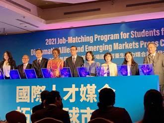 貿協搭橋媒合在台逾2萬僑外生與台灣廠商連結