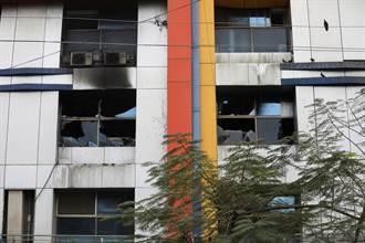 印度孟买郊区医院大火 13名染疫病患丧命