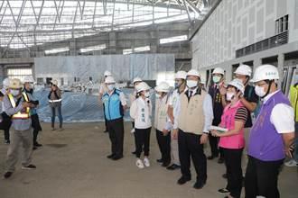 大台南會展中心6月底完工 打造人文兼具綠能科技城