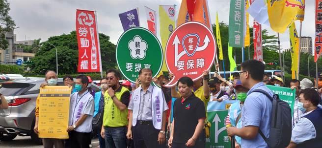 2021五一行動聯盟將在5月1日勞動節舉行「五一勞工大遊行」,預估號召3000人參與。(林良齊攝)