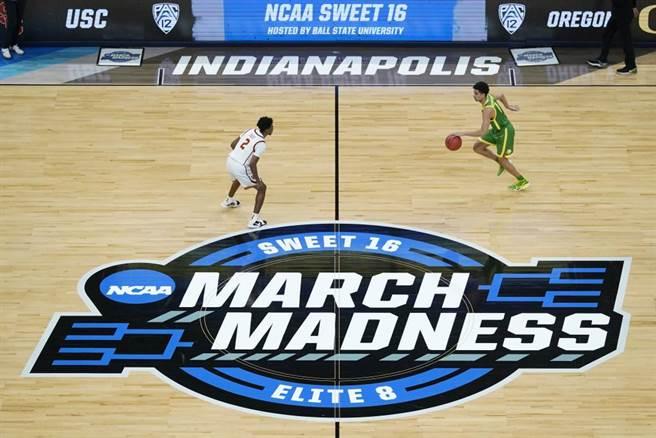 美國NCAA一級大學籃球聯賽。(美聯社資料照)