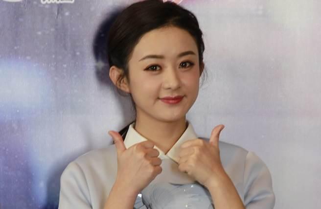 趙麗穎2015年來台宣傳《花千骨》。(本報系資料照)