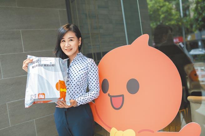 天貓淘寶海外台灣總經理劉慧娟宣布啟動「跨境合單雙北2日達」服務。圖/阿里巴巴提供