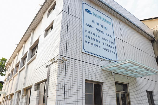 嘉義市舊菸葉廠禮堂將作為影視音基地,是嘉菸第1個完成修繕的建築物。(呂妍庭攝)