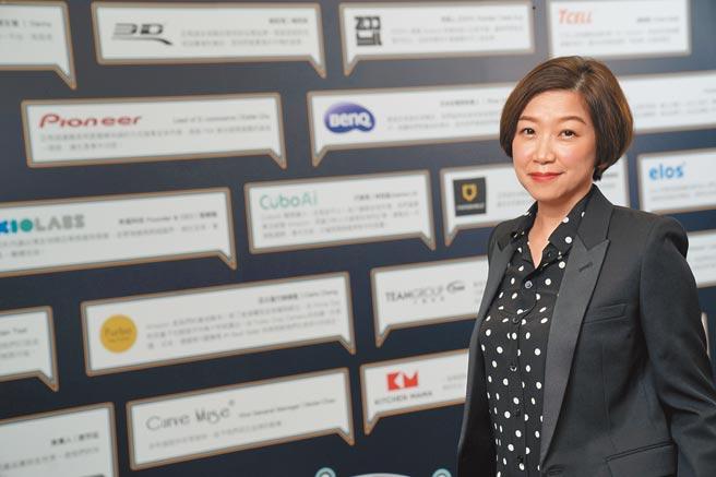 亞馬遜全球開店台灣總經理陳思芬。(亞馬遜提供)