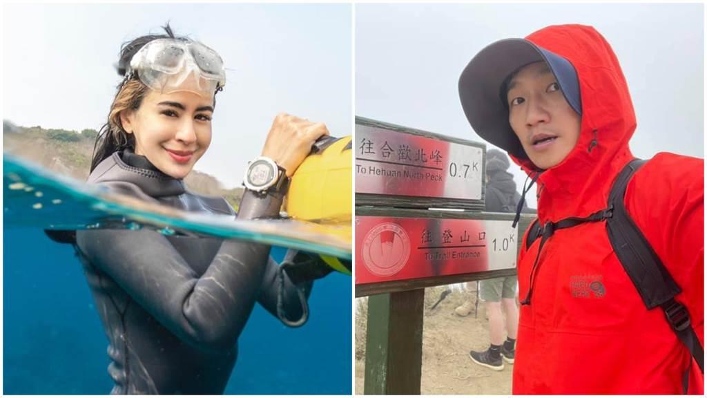 雷艾美和蔡昌憲將加入《全明星運動會》第二季。(摘自臉書)