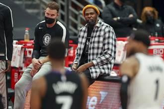 NBA》籃網今天7人缺陣 納許:KD客場之旅回歸