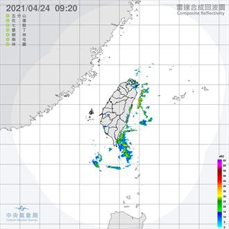 吳德榮:明日各地雲量多 局部陣雨機率高