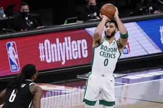 NBA》無視塔圖38分 籃網退綠軍重回東區龍頭