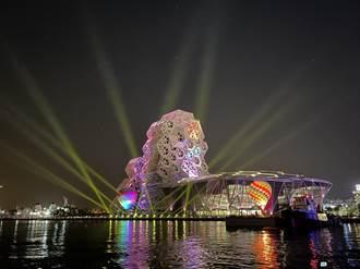 2022台灣燈會在高雄 史上首次雙場域 愛河試燈超美畫面先曝光