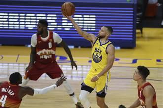 NBA》柯瑞短暫傷退沒差 照飆32分幫勇士退金塊