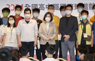 總統:與全球合作更頻繁 台灣需培養豐富國際觀的新世代