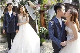 八點檔男星娶嬌妻 千朵玫瑰花浪漫唯美