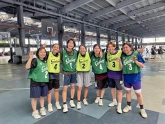 國泰大專3x3高屏區開打 沖繩女大生組隊超受矚