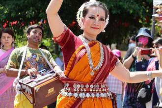 2021年春之祭印度文化節 以印度樂舞遊行熱鬧開展