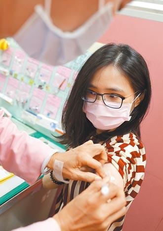 單日疫苗施打人次 自費是公費2倍