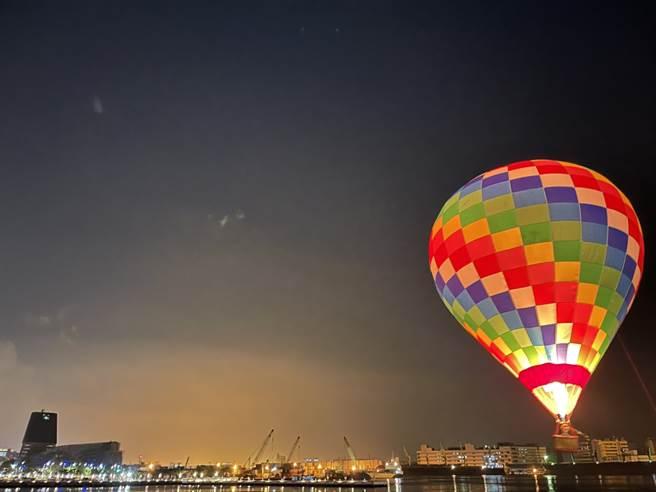 2022台灣燈會將在高雄舉辦,圖為試燈畫面。(高雄市府提供)