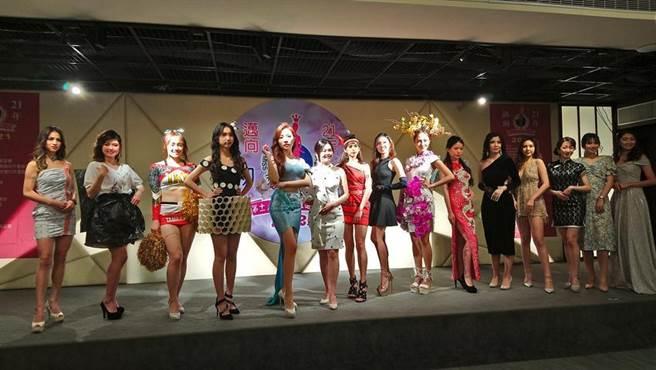 台湾小姐选拔的初选大赛今日登场,共有20多位佳丽参赛竞美!(图/曾丽芳)