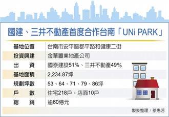 国建三井台南推案 总销60亿