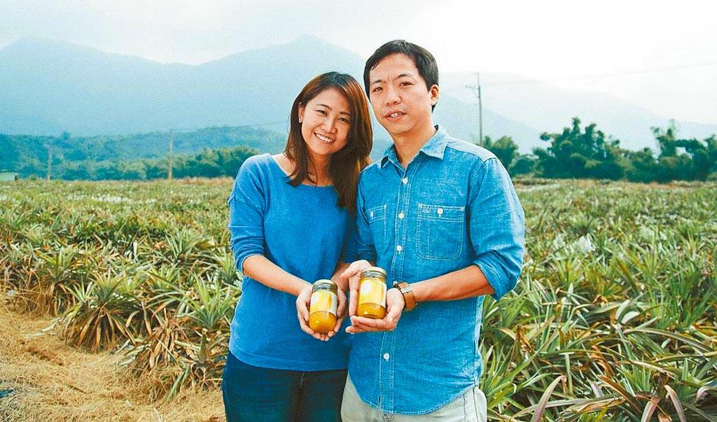游子昂創立「格外農品」公司,把市場規格之外但品質無虞的農產品,做成不同口味的果醬。(游子昂提供/林雅惠高雄傳真)