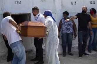 最慘4月天 巴西單月近7萬人染疫不治