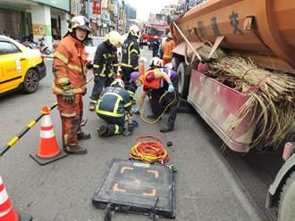 19歲騎士超車不慎自摔 倒對向車道遭聯結車輾斃