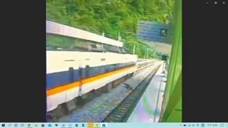 武塔站月台施工廠商違規侵入軌道 台鐵重罰30萬解約