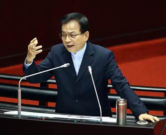 謝長廷秀證據控台排放核廢水 賴士葆:到底是敵是友?