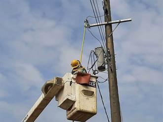 線路開關故障 台南安南、西港2000多戶大停電