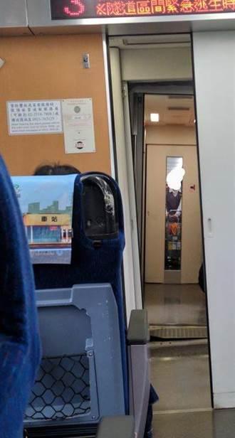 太鲁阁号车厢倾斜角度不一 台铁:行驶中的自然现象