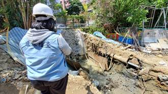 營造商偷排泥水汙染指南溪 北市開罰5.2萬