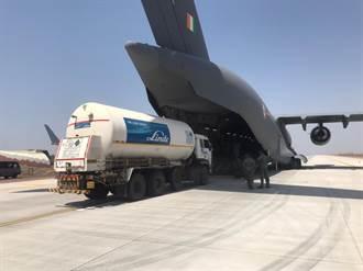 印度救急氧氣告罄對國際求援 民間向大陸訂購製氧機