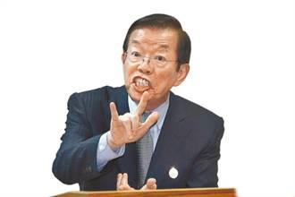 子弟兵反擊了 林鶴明看到一張照片喊:謝長廷戒嚴時就敢反核
