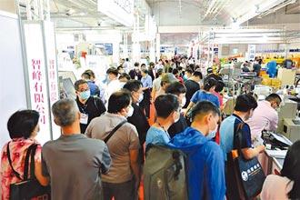 台南機械展假日爆棚 近萬名人潮湧進會場