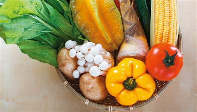 飲食大原則:均衡、天然、新鮮、清淡。(示意圖/康健雜誌提供)