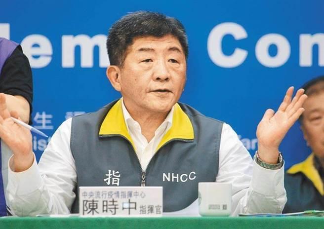 卫福部长陈时中。(资料照)