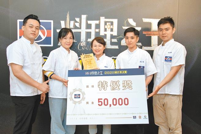 全聯料理之王線下準決賽選出5位特優,每人獲得5萬元,4月30日將參加《料理之王2》節目錄影。(全聯提供)