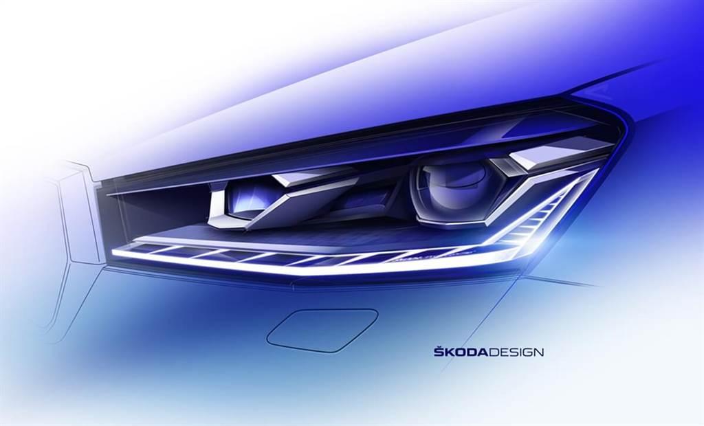 Skoda發佈新世代Fabia的外觀設計草圖