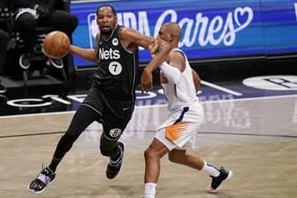 NBA》復出自願打替補 杜蘭特轟33分射落太陽