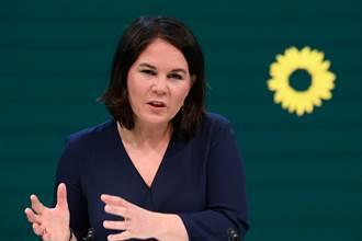 民調居首 德國綠黨總理候選人籲對陸強硬