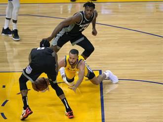 NBA》柯瑞狂飆37分 勇士險退國王穩坐西區第10