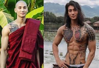 地表最帥和尚挺緬甸示威遭逮 爆坐牢10年絕望近照流出
