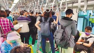 捷運情侶脫口罩相互餵食 北捷怒調影像可重罰7500元