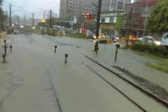 鶯歌平交道遇水必淹 水利局明年汛期前改善