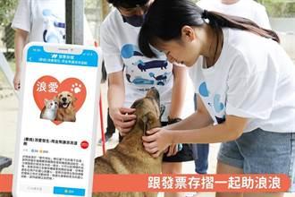 《發票存摺》公益日號召用戶捐點做公益 讓流浪貓狗餐餐溫飽