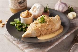 雞胸肉玩花樣 台畜攜手貓兒干 首創青辣椒花生醬口味