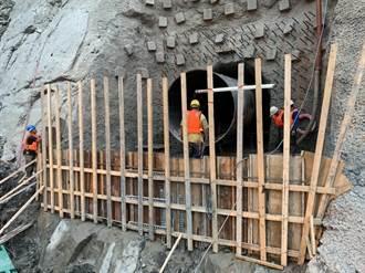 石門水庫下層取水口 預計5月完工
