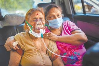 連4天 印度逾30萬人確診