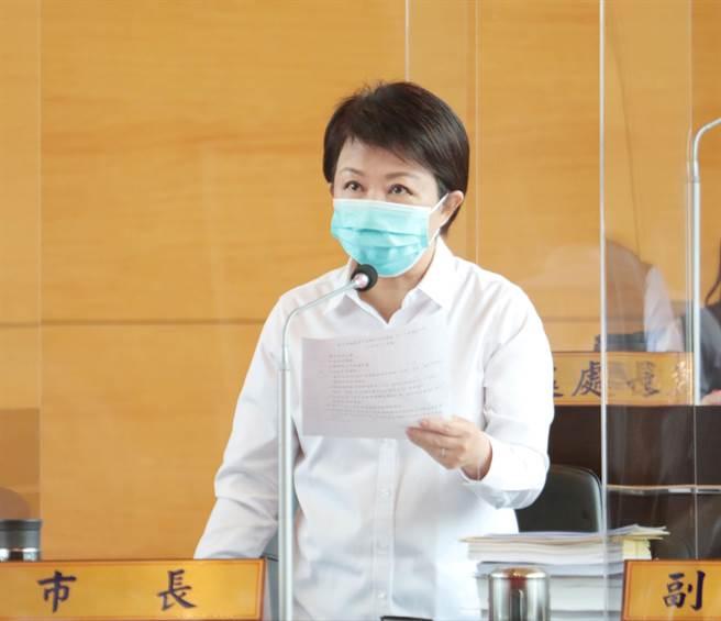 台中市长卢秀燕。(中时资料照)