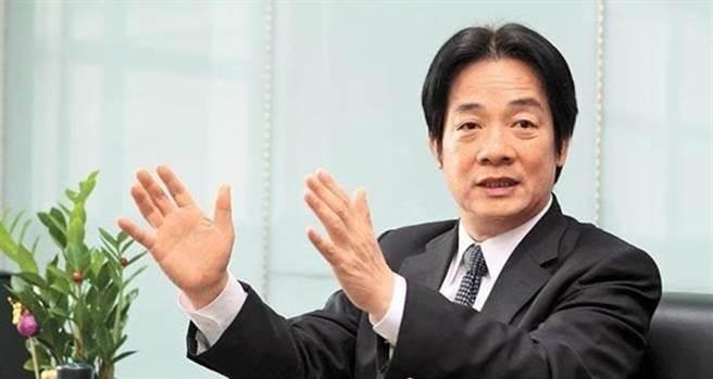 副總統賴清德在獨派團體活動致詞老調重彈,「台灣是主權獨立的國家,主權與中國互不隸屬,台灣的前途只有台灣2300萬人有權力決定」。(圖為中時資料照)